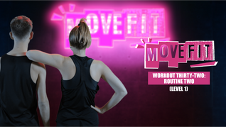 MoveFit Individual Workout 32   Routine 2 (Level 1)