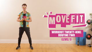 MoveFit Individual Workout 29 | Routine 2 (Level 1)