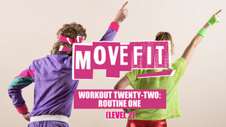 MoveFit Individual Workout 22   Routine 1 (Level 2)