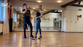 Bachata Combination Class 2 - Eva y Nico  - Intermediate