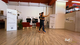 Bachata Combination Class 5 - Sabrina y Nico  - Intermediate