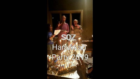 SOZ Hanukkah Party 2019