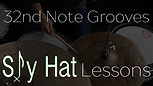 32nd Note Grooves #1 | The 3 Note Pattern |