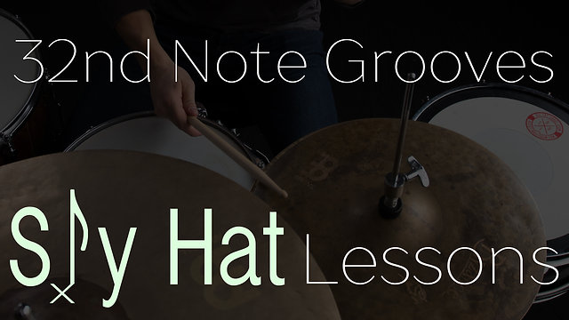 32nd Note Sly Hat Grooves