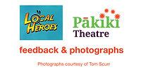 'Local Heroes' feedback & photos