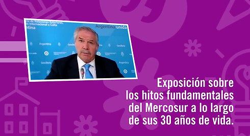 """""""La política exterior argentina y el Mercosur"""" - Desayunos Iberoamericanos 2021"""