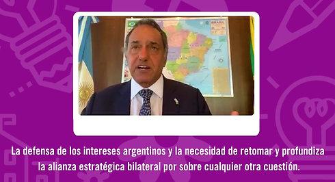 """""""Argentina - Brasil: una diplomacia comercial, política y ejecutiva"""" - Desayunos Iberoamericanos 20211"""