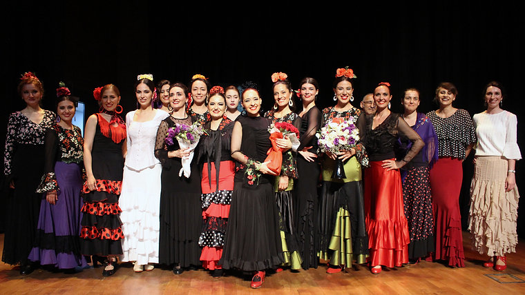 Melis Cangüler Azulmavi Flamenko Akademi 2017