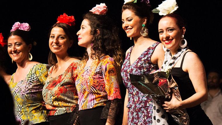 Melis Cangüler Azulmavi Flamenko Akademi 2016