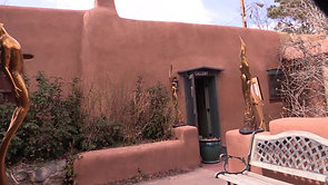 Old Southwest Town Of Santa Fe,New Mexico