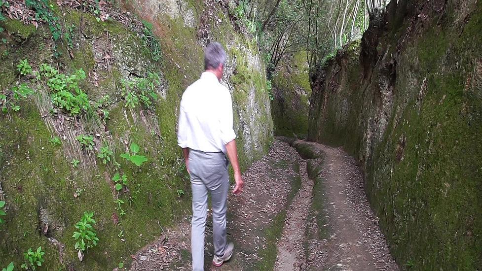 FLKT Michael Franke - Via cave dell'Etruria - parte 8