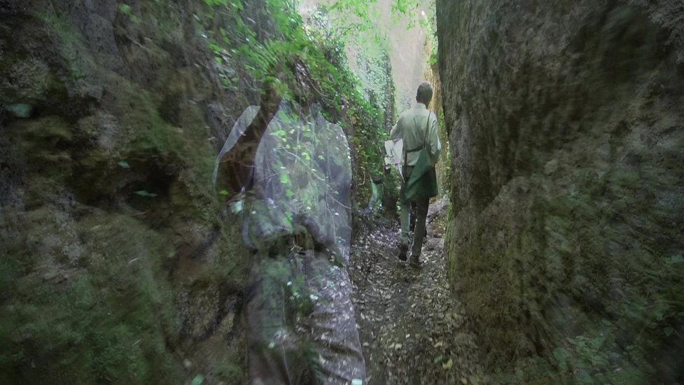 FLKT Michael Franke - Via cave dell'Etruria - parte 4