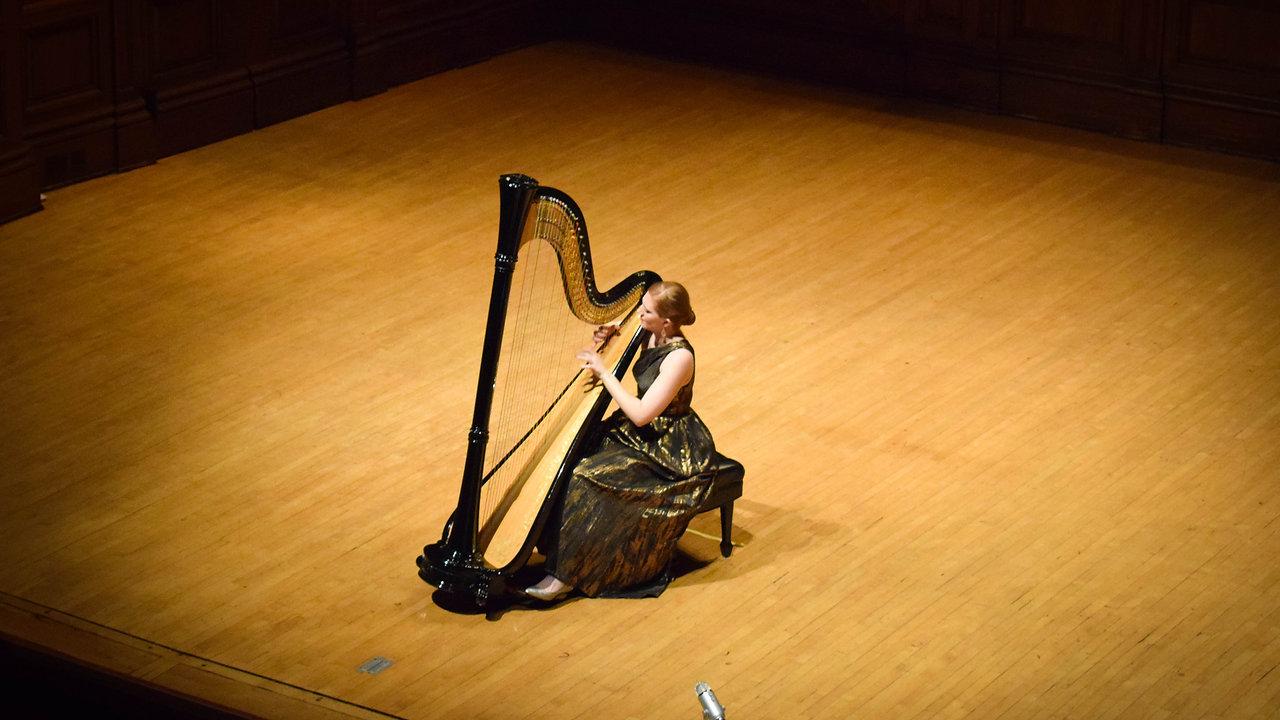 Molly O'Roark, concert harpist