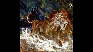 Sabre Tooth Lion Kaleidoscope $15