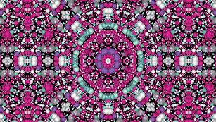 Millions of Pink Beads Kaleidoscope  $7