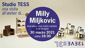 Studio TESS con Milly Miljkovic