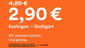 VVS Stuttgart Outdoor Kampagne