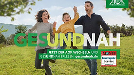 AOK Out Of Home Kampagne