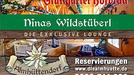 Wildstueberl Werbung Display Schwabengarage