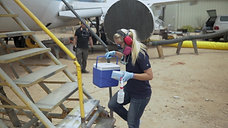 Energy Quest, Ozone Aircraft Cleaning test