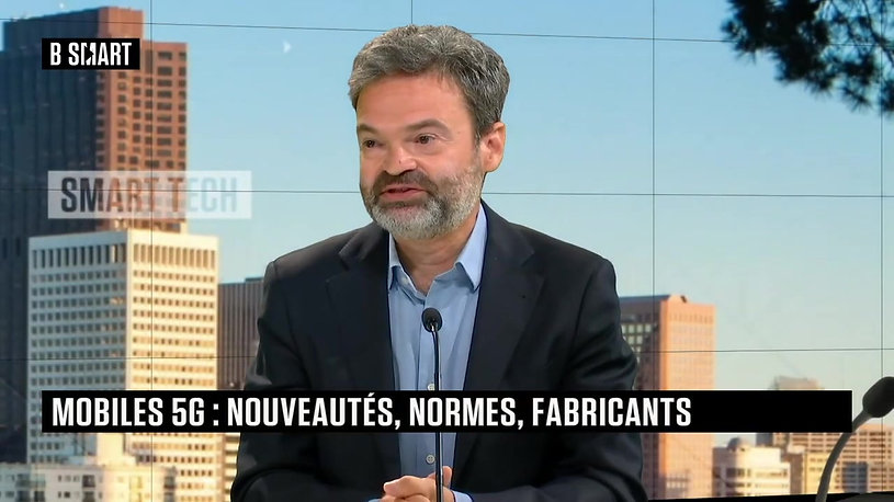 Interview de Stéphane Elkon sur la 5G dans l'émission BSMART