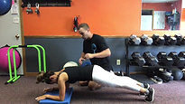 Front Plank--beginner