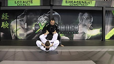 Foot Lock from Open Guard Passing (ankle stretch variation)