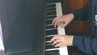 Francuska suita u E-duru, BWV 817, Allemande