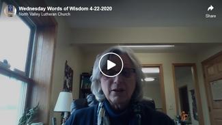 Wednesday Words of Wisdom 4-22-2020