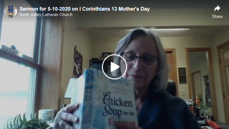 Sermon for 5-10-2020 on I Corinthians 13 Mother's Day