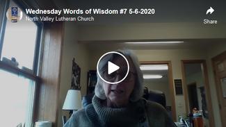 Wednesday Words of Wisdom #7  5-6-2020