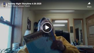 Sunday Night Storytime 4-26-2020