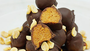 Low Fat Peanut Butter Protein Bites