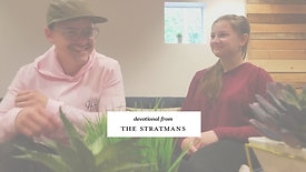 Devotional from the Stratmans