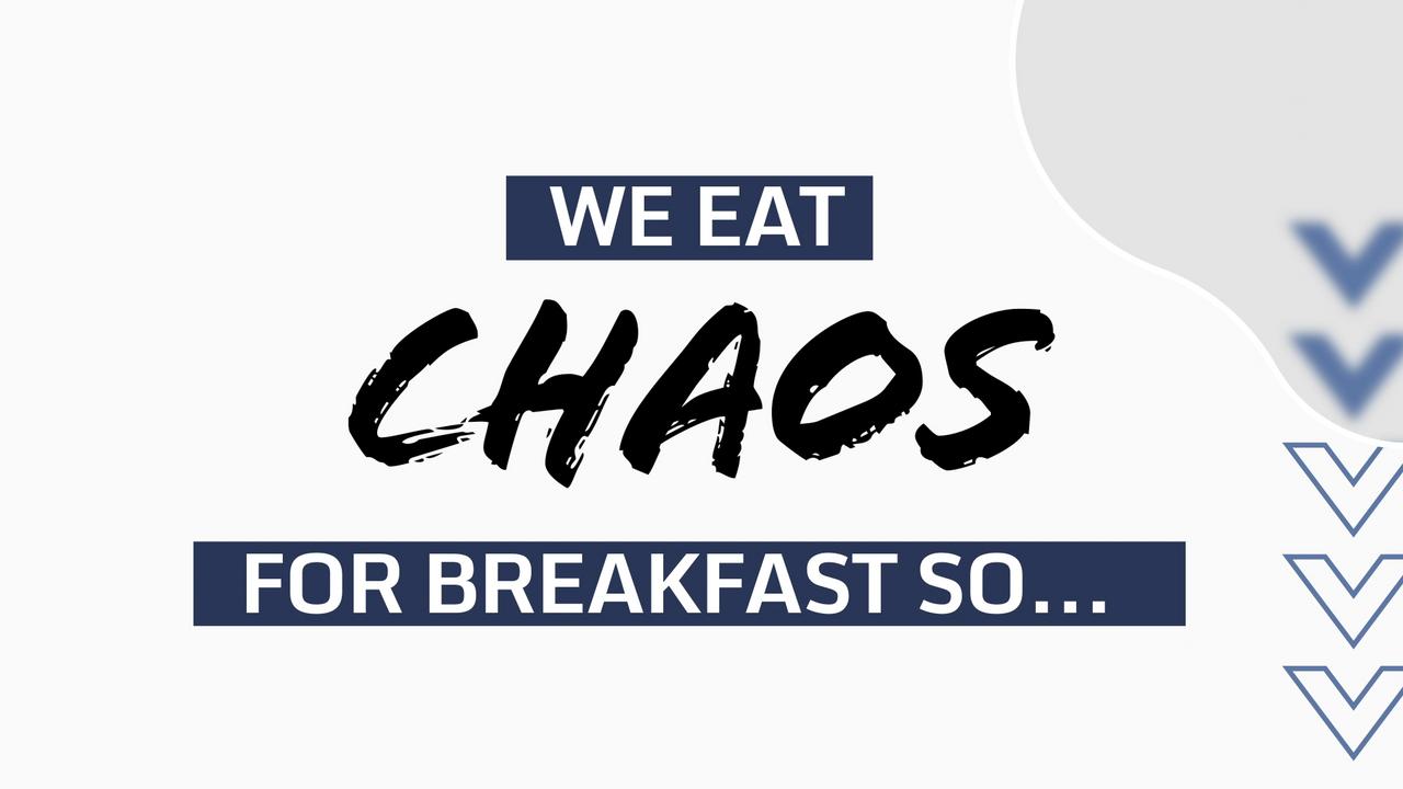 MLT Eats Chaos for Breakfast
