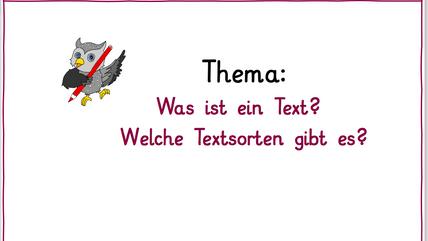 Was ist ein Text?