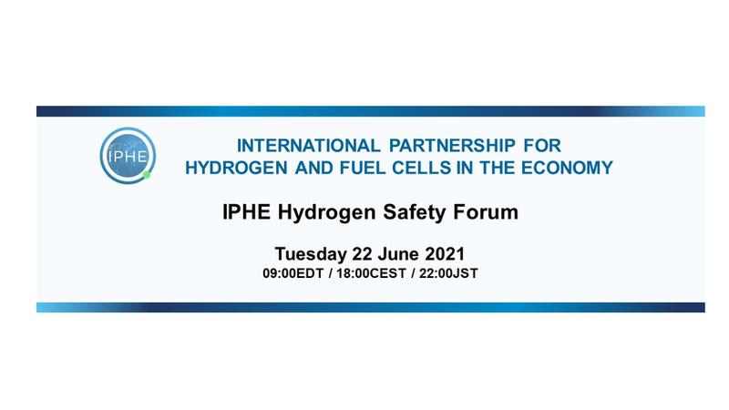 IPHE Safety Forum 22 June 2021