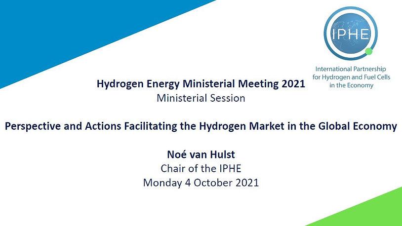 IPHE Chair Noe van Hulst Video Presentation to HEM 2021 04 10 2021