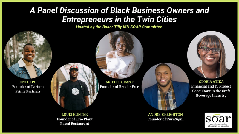 Panel Discussion of Local Black Entrepreneurs
