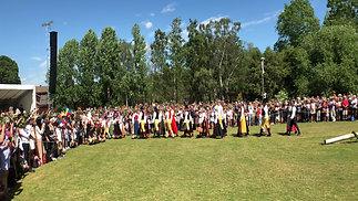 Midsommar Folk Group Skansen 2019
