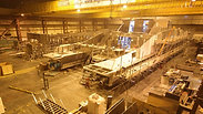 Twin City Liner in build at Wight Shipyard Co