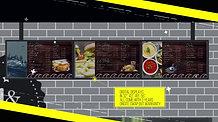 Lone Digital 3 Screen hanging menu system