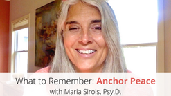 Anchor Peace: What to Remember, Video 16 of 18