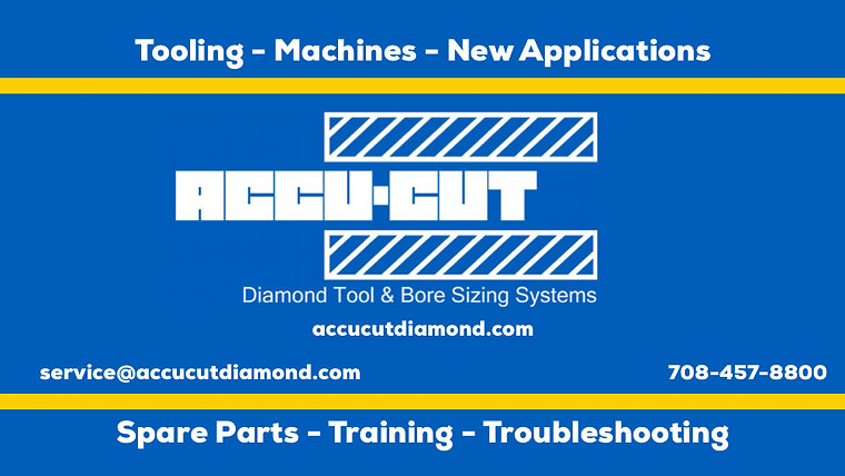 Accu-Cut Diamond Tool