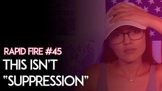 """Voter Suppression"" Is A Lie"