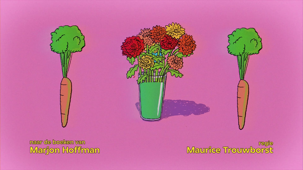 """Title Sequence  for """"De regels van Floor"""""""