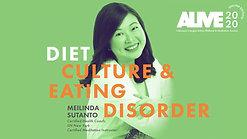 ALIVE 2020 Online Edition - Diet Culture & Eating Disorder - Mindful Room