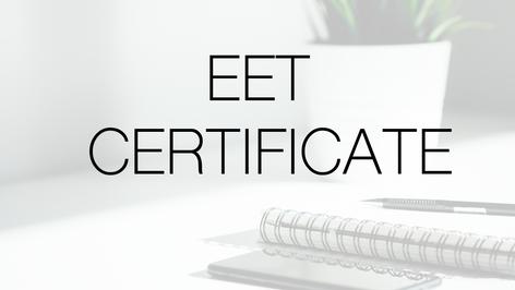 EET Certificates & Daňový portál