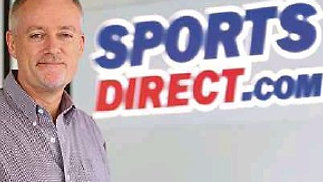 CEO of Sports Direct, Paul Gibbons.