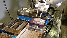 Cobot CNC Machine Tending on Haas VF3 Mill